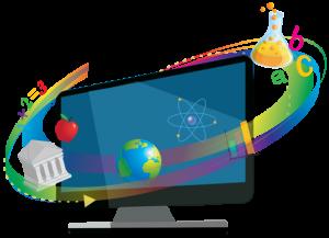 eClass logo use din Panteion University